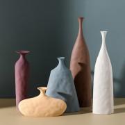 娴菲北欧文艺陶瓷花瓶摆件