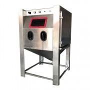中山湿式喷砂机节能环保湿式喷砂机钢结构处理定做喷砂机