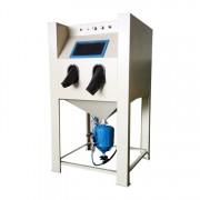 中山高压箱式喷砂机模具除锈油漆喷砂机手动大型喷砂机