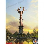 华阳雕塑 重庆城市雕塑 重庆主题雕塑 四川地标性雕塑